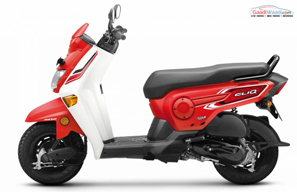 Honda Cliq Scooter Launched In India Price Specs Features