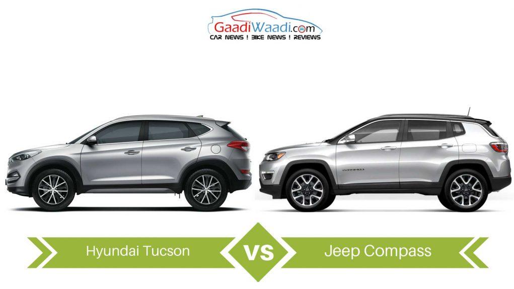 jeep compass vs Hyundai Tucson comparison1
