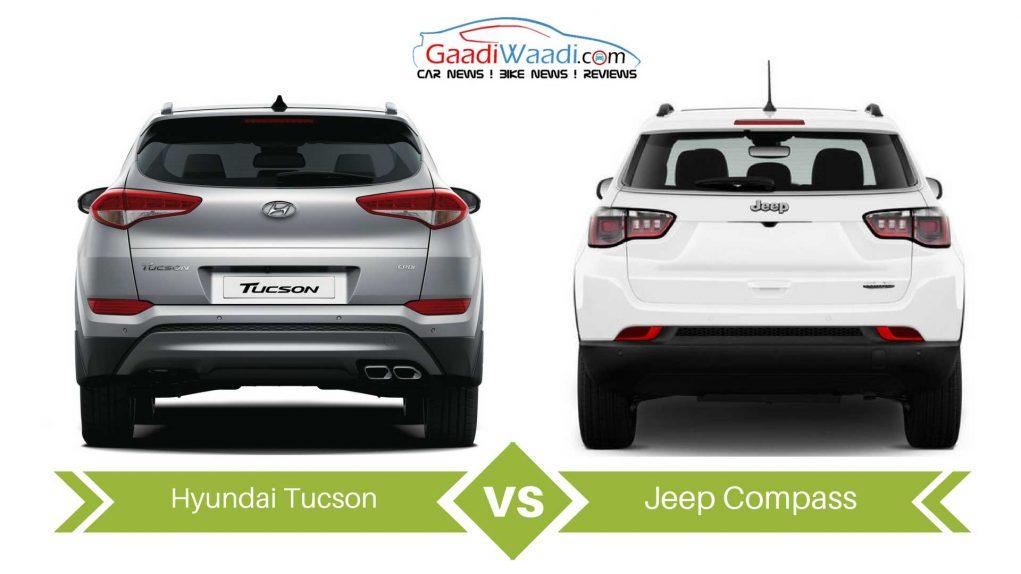 jeep compass vs Hyundai Tucson comparison3