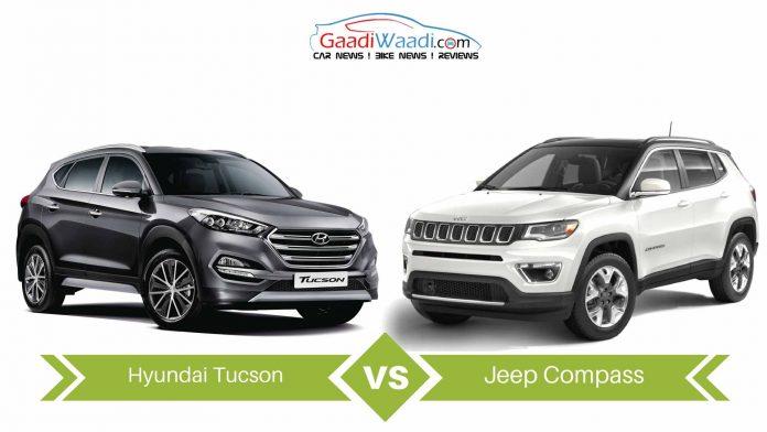 jeep compass vs Hyundai Tucson comparison5
