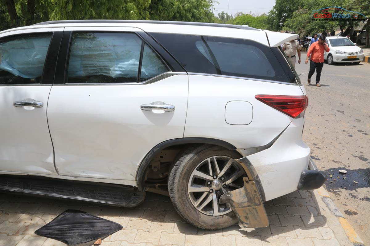This New Toyota Fortuner Accident Make You Realise The Importance Of Safety Features