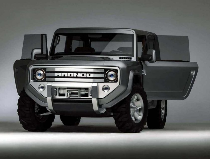 Revived 2020 Ford Bronco Jeep Wrangler Rival Teased Officially