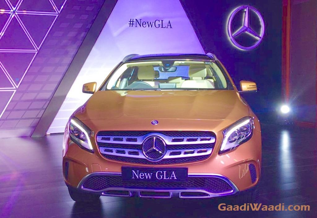 2017 Mercedes-Benz GLA Facelift Launched in India, Price, Specs, Features