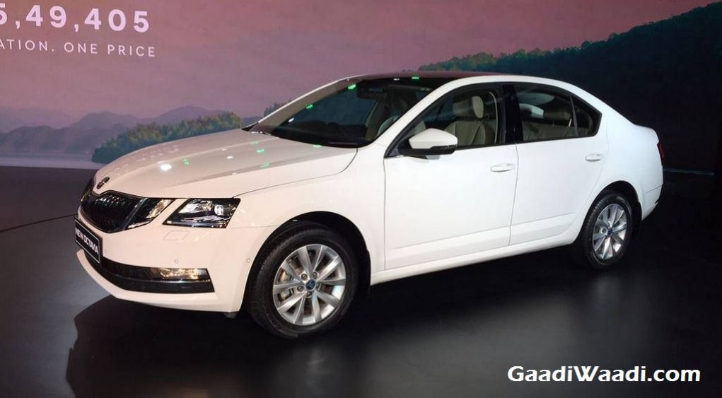 2017 Skoda Octavia Facelift Launched in India