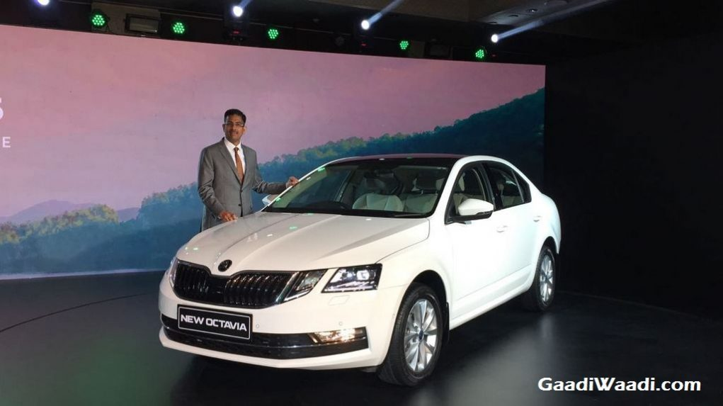 2017 Skoda Octavia Facelift Launched in India 3