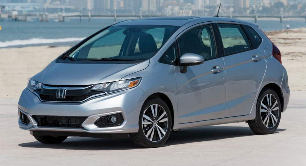 2018 Honda Fit aka Jazz