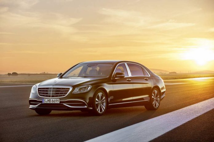 2018 Mercedes-Benz S-Class Maybach S650 India