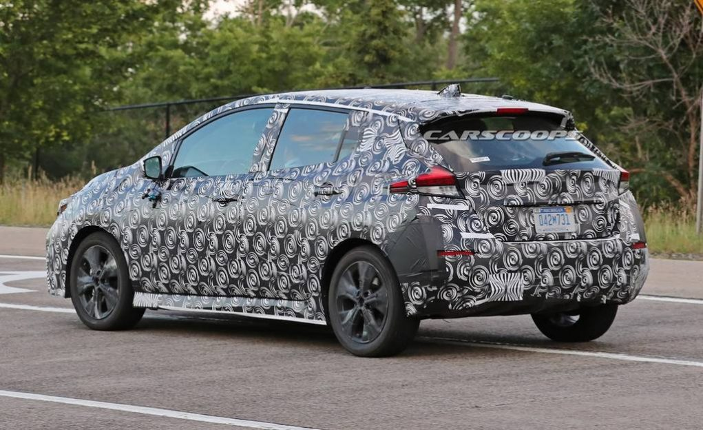 2018 Nissan Leaf Spied Testing 2