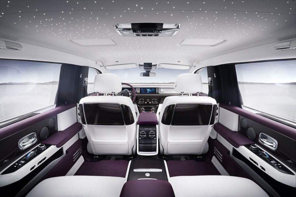 2018 Rolls Royce Phantom Interior