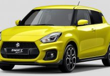 2018 Suzuki Swift Sport Revealed