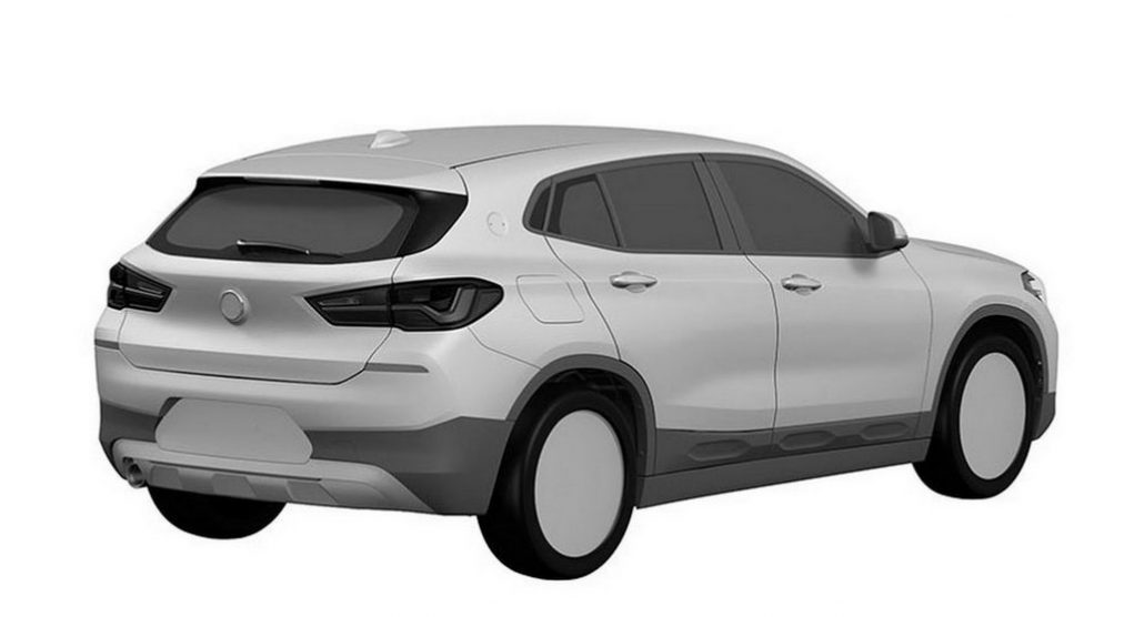 BMW X2 leaked patent images 1