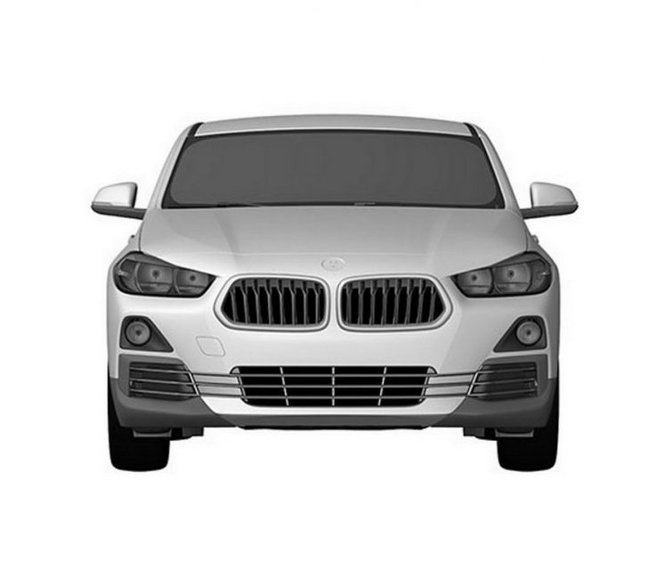 BMW X2 leaked patent images 2