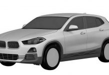 BMW X2 leaked patent images
