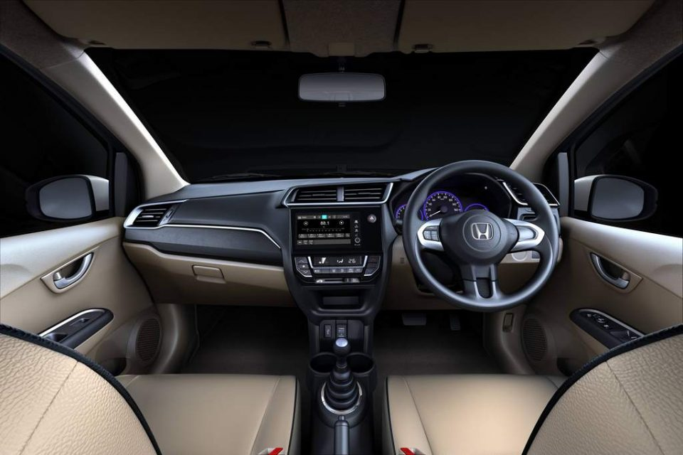 Honda Amaze Privilege Edition India Interior