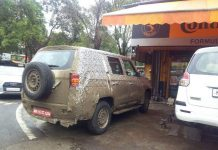 Mahindra TUV500 Caught Testing in India 1