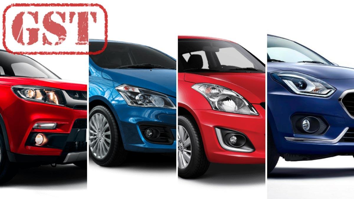 Maruti Suzuki Cars Prices After Gst Gaadiwaadi Com Car News