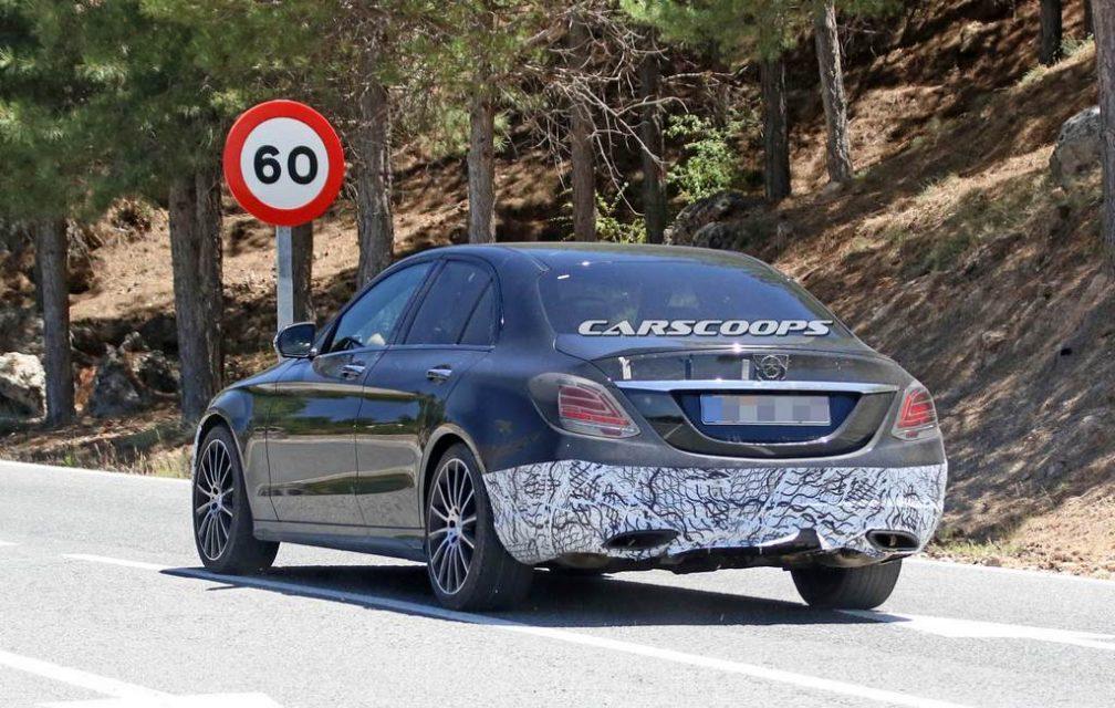 Mercedes-Benz C-Class Facelift Rear