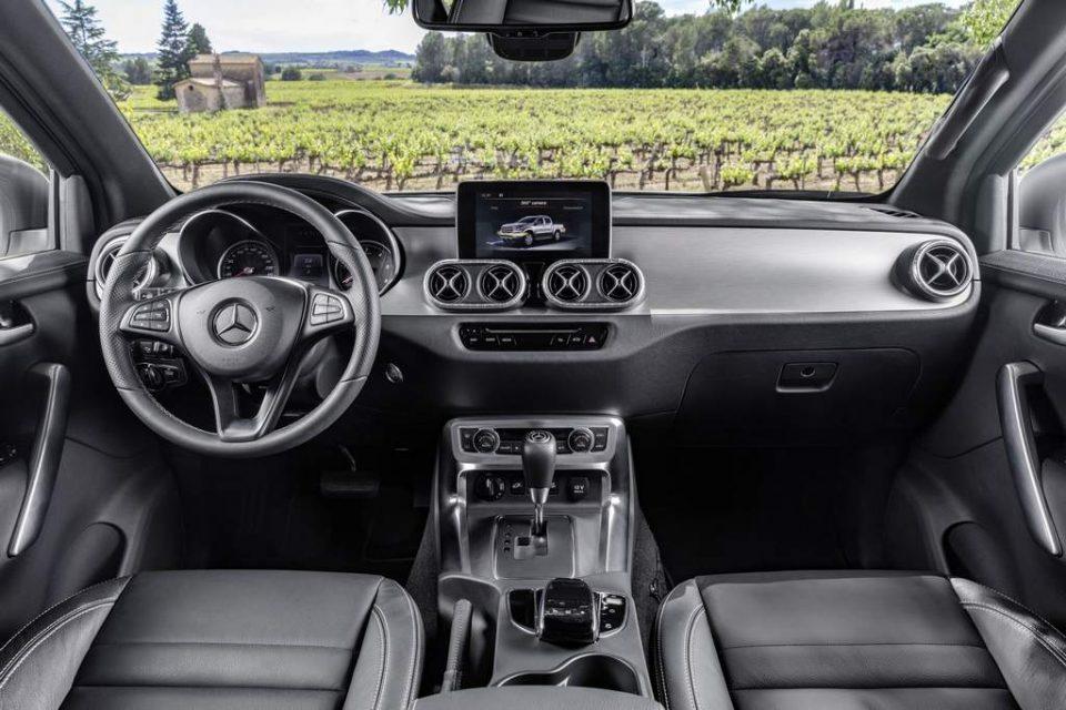 Mercedes X-Class Pickup Truck Interior
