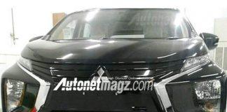 Mitsubishi Expander MPV Spied