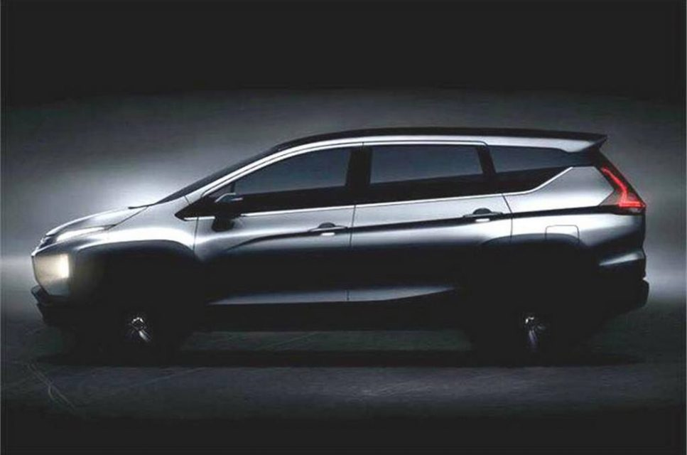 Mitsubishi Expander MPV (Maruti Ertiga Rival) Teased Ahead ...