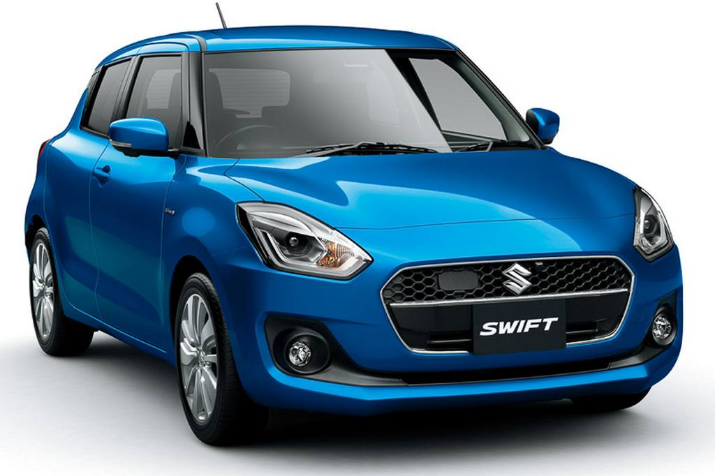 new suzuki swift hybrid launched in japan. Black Bedroom Furniture Sets. Home Design Ideas