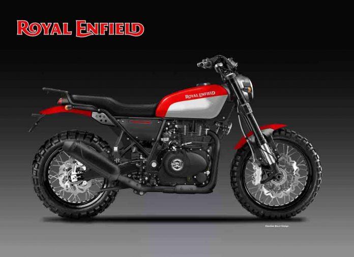 2018 Yamaha Motorcycles >> Royal Enfield 400 Trailblazer Looks Ready to Hit Dirt – Rendering