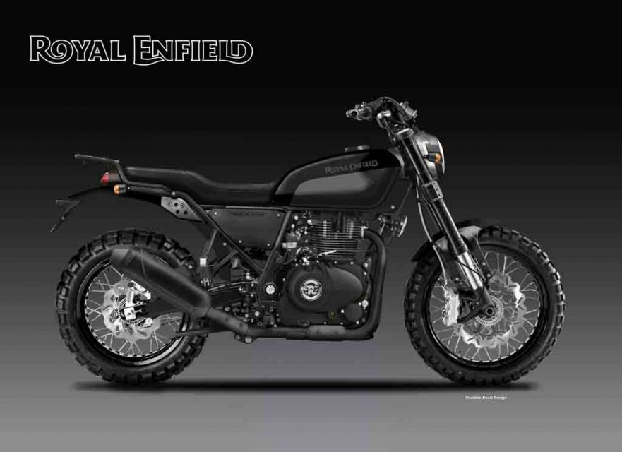 royal enfield 400 trailblazer looks ready to hit dirt. Black Bedroom Furniture Sets. Home Design Ideas