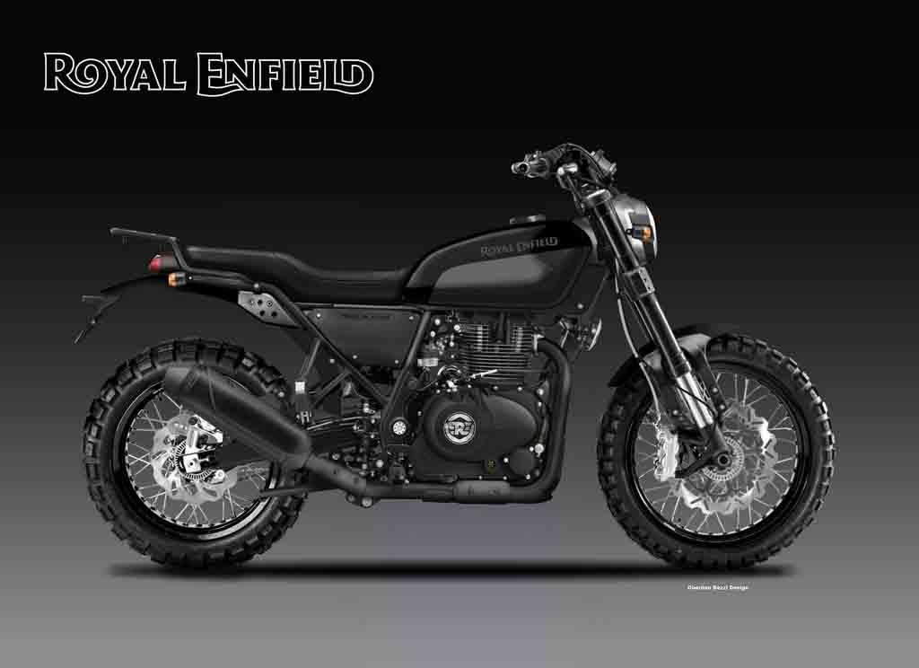 Royal Enfield 400 Trailblazer Looks Ready to Hit Dirt ...