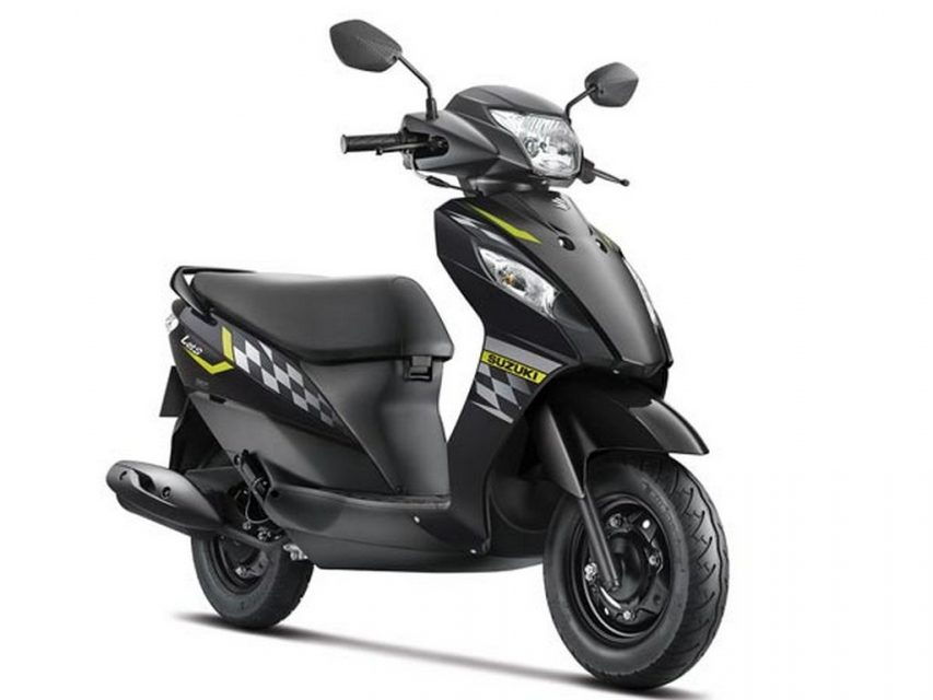 Suzuki Let's dual tone colour launched in India 1
