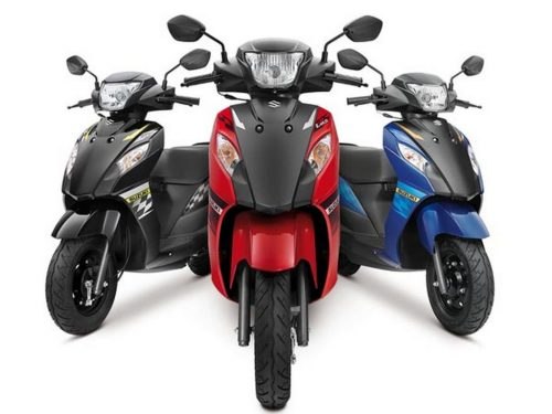 Suzuki Let's dual tone colour launched in India 2