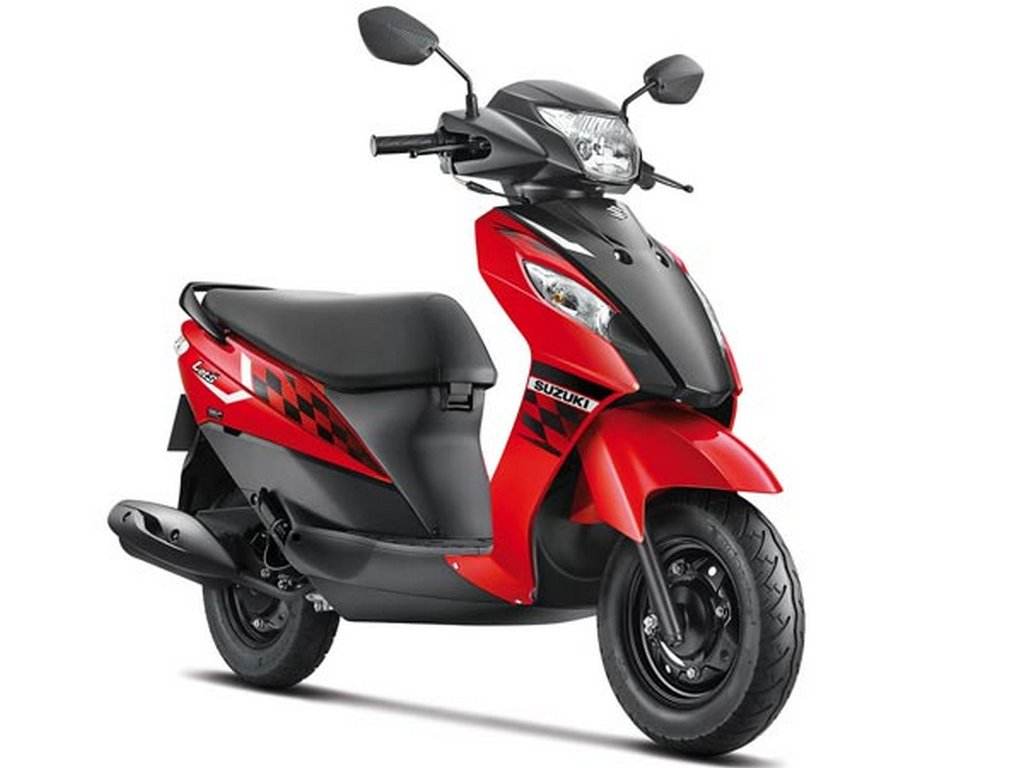 Suzuki Let's dual tone colour launched in India