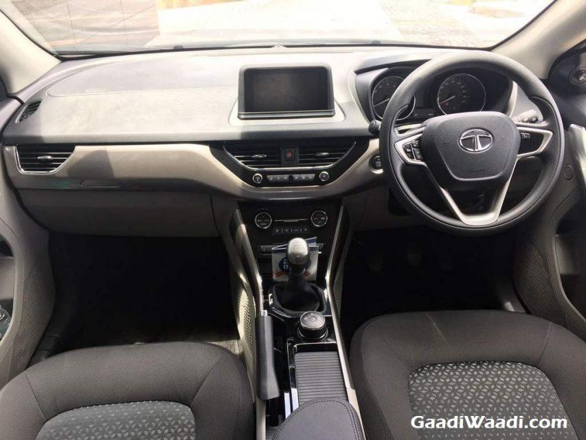 Tata Nexon Interior and Dashboard