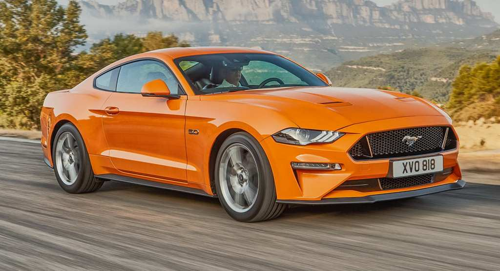 India Bound  Ford Mustang Facelift