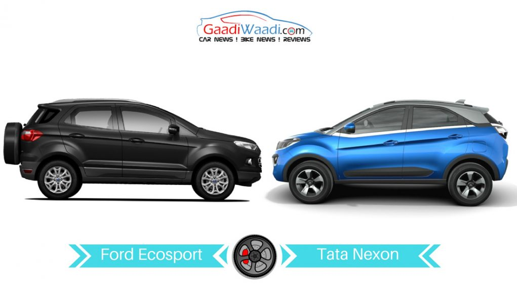 tata nexon vs ford ecosport comparison
