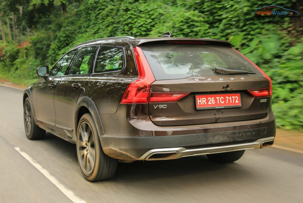volvo v90 cross country review adventure in unique style. Black Bedroom Furniture Sets. Home Design Ideas