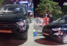 2017 Ford EcoSport Facelift Spotted Undisguised In India