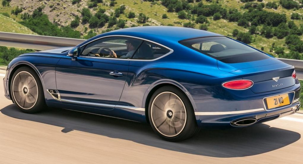 2018 Bentley Continental GT 1