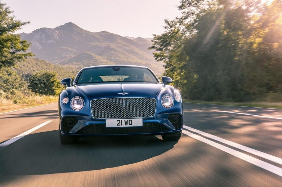 2018 Bentley Continental GT Front End