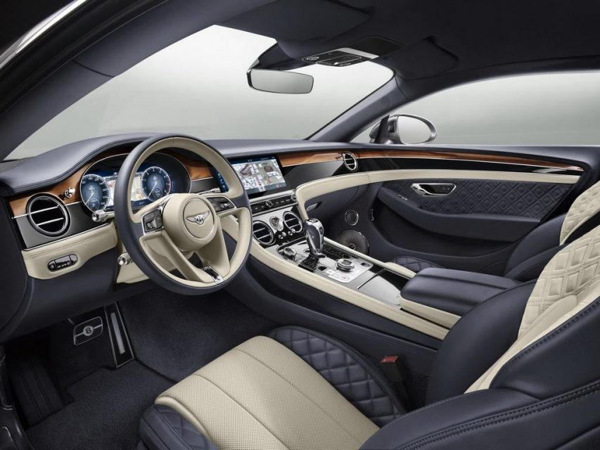 2018 Bentley Continental GT Interior 1
