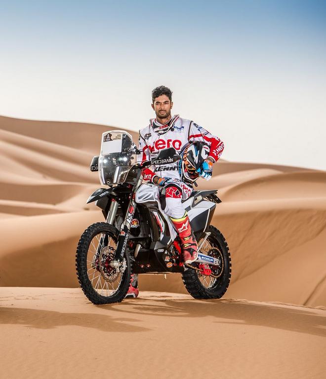 2018 Hero Dakar Rally Bike Revealed Currently Competes In Oilibya
