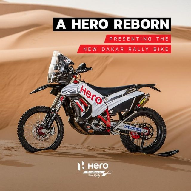 2018 Hero Dakar Rally Bike Revealed 2