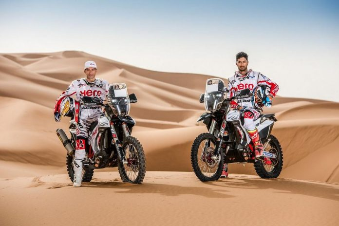 2018 Hero Dakar Rally Bike Revealed