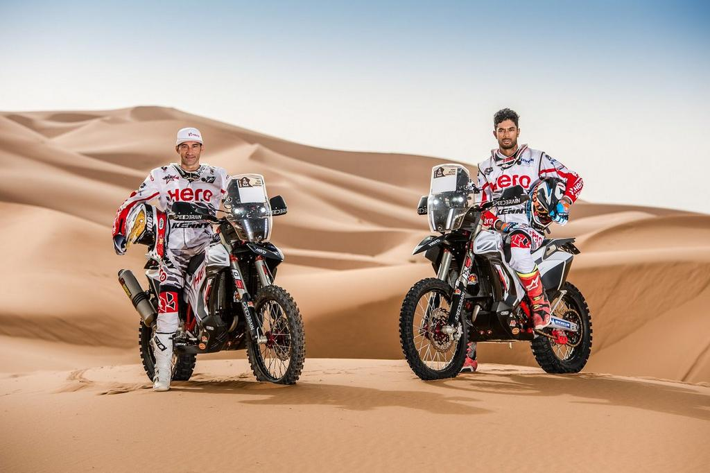 2018 hero dakar rally bike revealed currently competes in oilibya rally. Black Bedroom Furniture Sets. Home Design Ideas