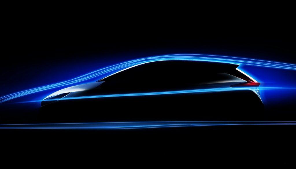 2018 Nissan Leaf Zero Lift - Improved Aerodynamics