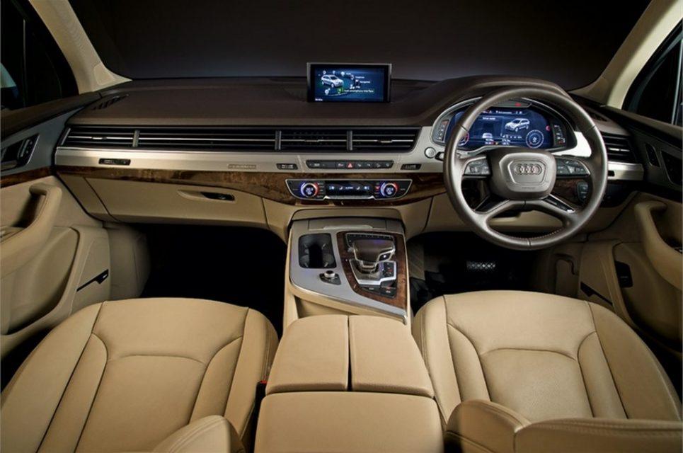 Audi Q7 Design Edition and A6 Design Edition Interior