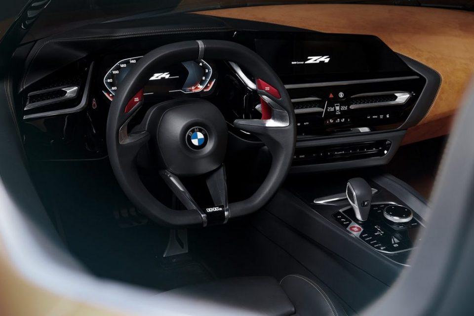 BMW Concept Z4 Interior 1