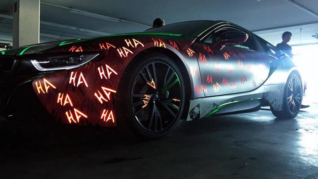 Meet The Evilest Bmw I8 Wrap Inspired By Joker