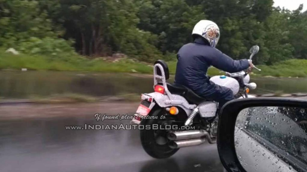 Benelli MotoBi-250 Patagonian Eagle Cruiser India Spied