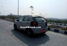 Ford Figo Cross and Ford Figo Facelift Spied 1