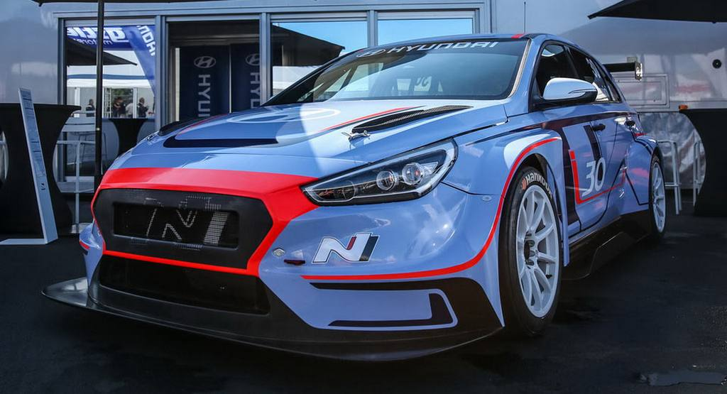 Hyundai i30 N TCR Race Car